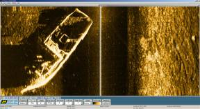 Side Scan Sonar scanned a shrimpboat